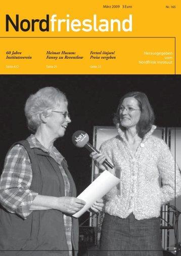 Ferteel iinjsen! Preise vergeben Heimat Husum ... - Nordfriisk Instituut