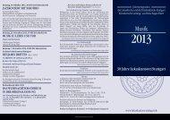 30 Jahre Lukaskantorei Stuttgart