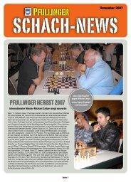 Schach-News 12/2007 - Schachfreunde Pfullingen eV