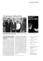 Eine gelungene Jubiläumsfeier - Procap Grischun