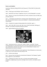 Saison 08/09 - Sportfreunde Tiefenbach