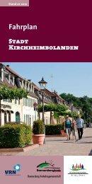 Fahrplan - Verbandsgemeinde Kirchheimbolanden