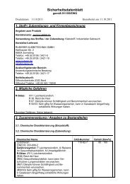 Sicherheitsdatenblatt technicoll® 9110 - Ruderer Klebetechnik
