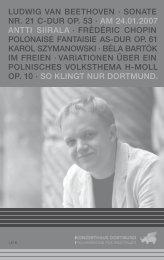 ludwig van beethoven · sonate nr. 21 cldur op. 53 · am 24.01.2007 ...