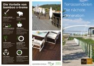 Terrassendielen Die nächste Generation - MOSO Bambus