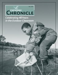 Celebrating40Years in the Outdoor Classroom - The Chewonki ...