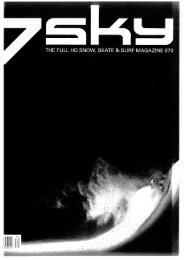 7sky Magazin Nr. 70 - eskimos.ch
