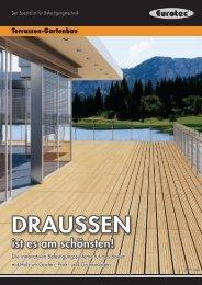 Verarbeitungshinweise Terrasse - Asal