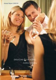 Annual Report 2009/10 Excellence in Retailing - Douglas Holding