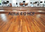 Actus 4.0 HDF Nuss amk. Struktur - Stoeckl