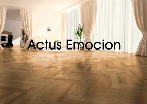 Actus Emocion Eiche Alt geb., gefast Design - Stoeckl