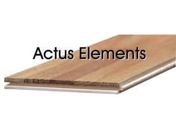 Actus Elements Esche Design - Stoeckl