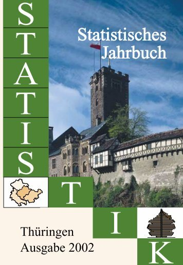 Bestell Nr: 40101P 200200 - Thüringer Landesamt für Statistik