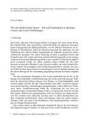 Wie die Helden laufen lernen - Medienkommunikation - TU Chemnitz