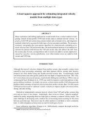 pdf 349K - Stanford Exploration Project - Stanford University