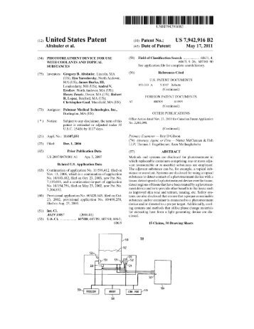 (12) Umted States Patent (10) - Patent and Intellectual Property ...