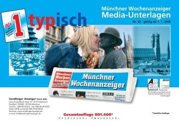 typisch - Wochenanzeiger München