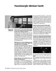 Praxistransfer Michael Harth - NLP Akademie Schweiz