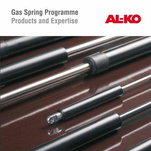 Gas Spring 500 N 700 mm Stroke 30