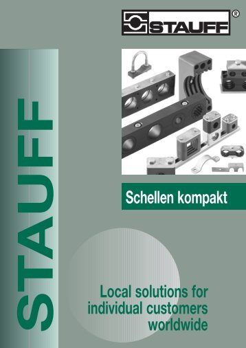 Schellen kompakt Local solutions for individual ... - Kohler GmbH