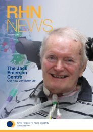 Read Our Latest Magazine - The Royal Hospital for Neuro-disability