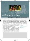 Titelthema Szene NRW Jugendforum Reisen - ChorVerband NRW eV - Seite 7