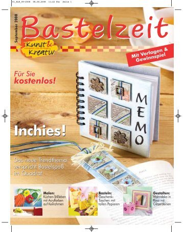 bastelzeit januar 2010 kunst kreativ franchise gmbh. Black Bedroom Furniture Sets. Home Design Ideas