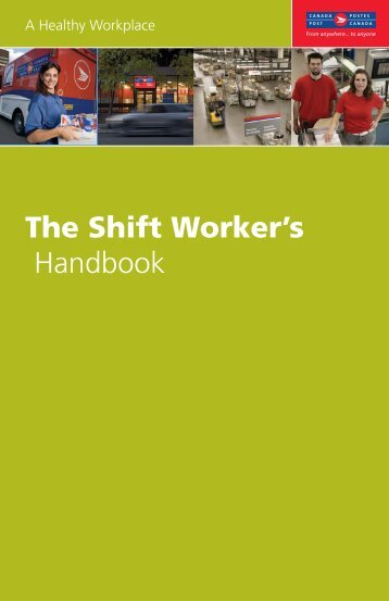 The Shift Worker's Handbook - Canada Post