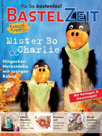 Bastelzeit September / Oktober 2012 - Kunst und Kreativ