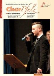 Zeitschrift Des Chorverbandes Der Pfalz Chor 3 ... - ChorPfalz online