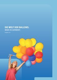 Die Welt Der Ballons. - Werbeartikel MAX