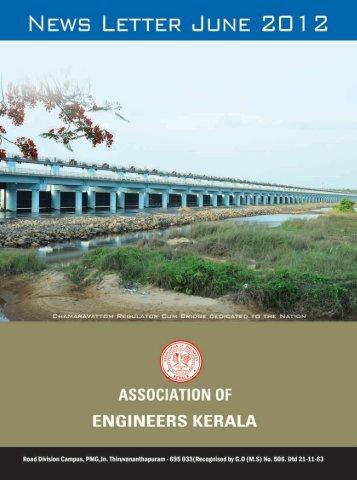 Newsletter June 2012 - Association of Engineers Kerala