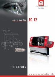 Download EC 12 brochure (PDF) - Escomatic