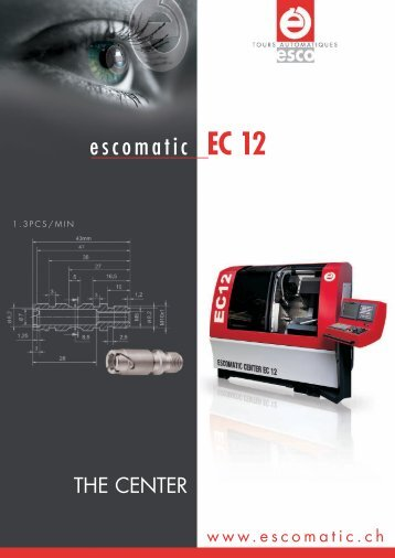 Download EC 12 brochure (PDF) - Escomatic