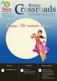 Happy Mid -autumn Festival - the Rotary Club of Singapore