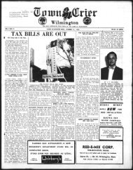 TAX BILLS ARE OUT - Wilmington Town Crier
