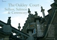 Oakley Court - Heritage World Media