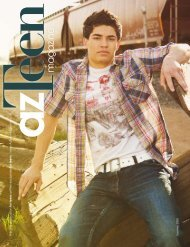 the only publication for teens written exclusively by - azTeen Magazine