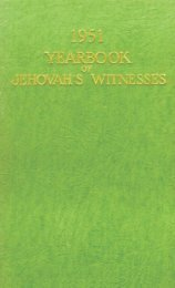 Year Book of Jehovah's Witnesses - Watchtower Archive