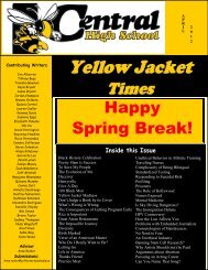 Happy Spring Break! - Jefferson County Public Schools