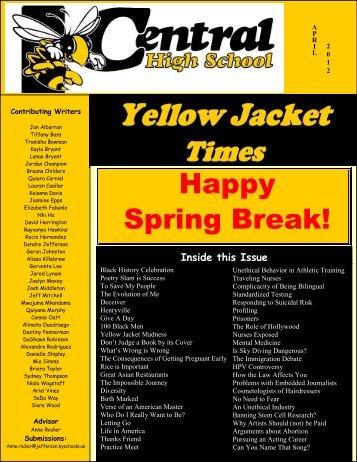 Happy Spring Break! - Jefferson County Public Schools