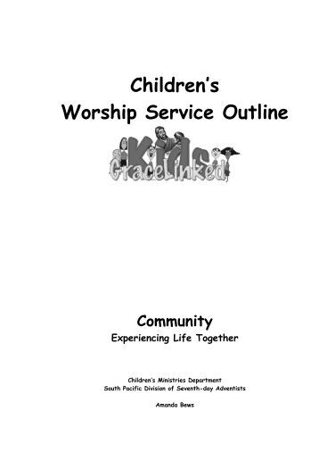 worship service outline