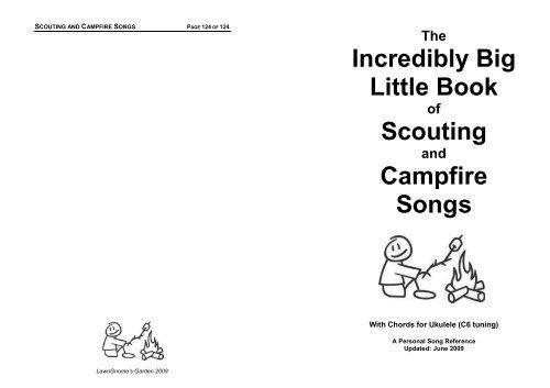 Campfire Song Book (PDF) - Halifax Ukulele Gang (HUG)