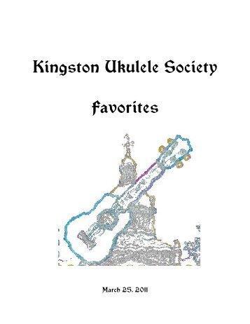 Hallelujah - Kingston Ukulele Society