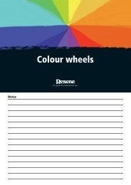 Colour wheels - Resene