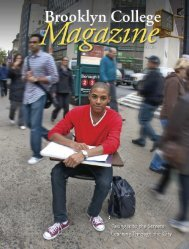 Fall 2009 - Brooklyn College Magazine - Brooklyn College - CUNY