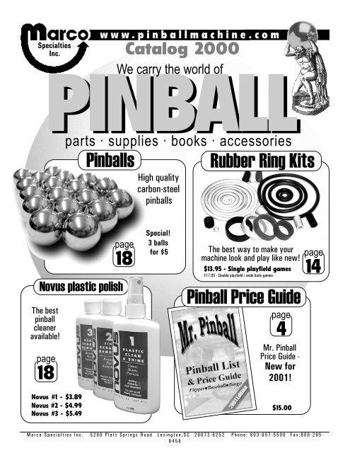 1971 Williams Gold Rush Pinball Machine Fuse Kit