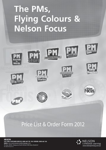 The PMs, Flying Colours & Nelson Focus 2012 - Nelson Primary