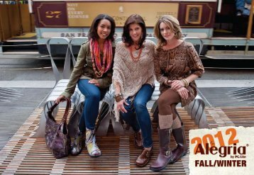 Browse the Fall 2012 Alegria Catalog - Best-Made Shoes