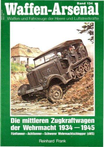 Die mittleren Zugkraltwagen der Wehrmacht 1934 -1945
